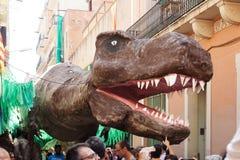 Festes de Gracia в Барселоне Стоковая Фотография RF