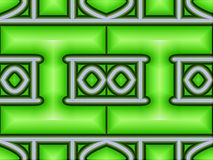 Festes geometrisches Muster vektor abbildung