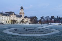 The Festetics baroque castle in Keszthely. Hungary Stock Image