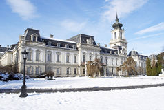 Festetics castle in Keszthely, Hungary. Beautiful Festetics castle in Keszthely, Hungary Royalty Free Stock Photography
