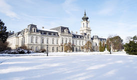 Festetics castle in Keszthely, Hungary. Beautiful Festetics castle in Keszthely, Hungary Stock Photos