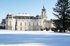Festetics castle in Keszthely, Hungary Stock Photo