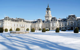 Festetics castle in Keszthely, Hungary Royalty Free Stock Photo