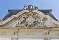 Festetics pałac fasada w Keszthely, Węgry Fotografia Royalty Free