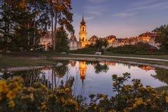 Festetics pałac Keszthely, Węgry - obraz stock