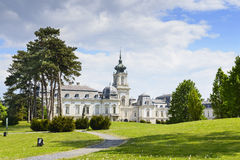 Festetics Palace.  Keszthely town, Hungary Stock Images