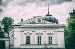 Festetics-Palast, Keszthely, Ungarn, analoger Filter Lizenzfreies Stockfoto