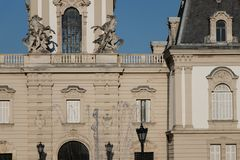 Festetics-Schloss, Keszthely Ungarn stockfotografie