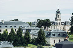 Festeticspaleis, Keszthely, Hongarije Stock Afbeelding