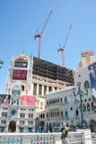 Festgeklemmter Aufbau auf dem Streifen, Las Vegas Stockfoto