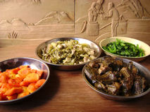 Festin asiatique délicieux image stock