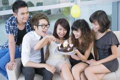 Festin d'anniversaire Photo stock