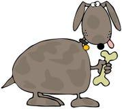 Festin de chienchien illustration de vecteur