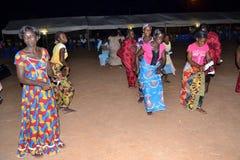 Festin de la victoire du FPI dans l'est de la Côte d'Ivoire Images stock