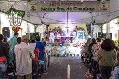 Festin de notre Madame Casaluce photos libres de droits