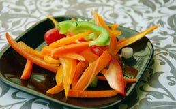 Festin de salade Photographie stock libre de droits