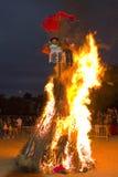 Festin de San Juan en Espagne Image libre de droits