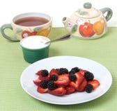 Festin de temps de thé Photographie stock