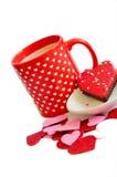 Festin de Valentine Photo libre de droits
