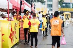 Festin grillé d'Abidjan Image stock