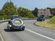 Festinacaravan - Ronde van Frankrijk 2015 Royalty-vrije Stock Foto's