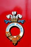 Festiniog railway logo. Royalty Free Stock Photography
