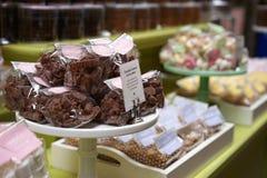 Festins décadents de chocolat Images stock