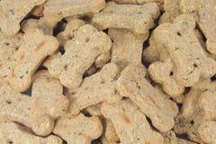 Festins de casse-croûte de biscuits de crabot photographie stock libre de droits