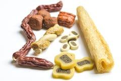festins de Chien-nourriture photographie stock libre de droits