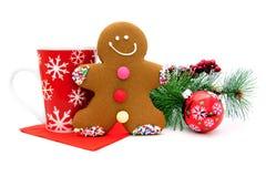 Festins de Noël Images libres de droits