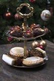 Festins de Noël Images stock