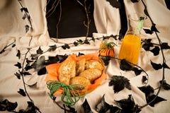 Festins de potiron de Halloween photo stock