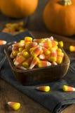 Festins doux et sucrés de bonbons au maïs Images libres de droits