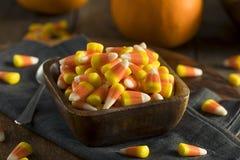 Festins doux et sucrés de bonbons au maïs Photo stock