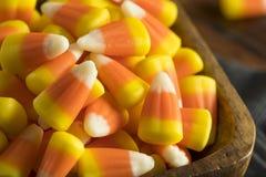 Festins doux et sucrés de bonbons au maïs Photos stock