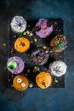 Festins drôles du ` s d'enfants pour Halloween image stock