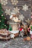 Festins pour Noël photographie stock