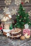 Festins pour Noël photographie stock libre de droits