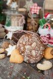 Festins pour Noël images stock