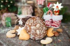 Festins pour Noël images libres de droits