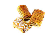festins savoureux de boulangerie   Photos stock