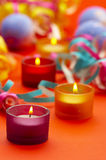 Festiv candle Stock Image