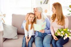 Festiv de vacances de personnes de confort de relations de condition parentale de maternité photographie stock libre de droits