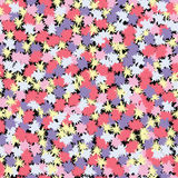 Festiv pattern. Vector abstract seamless pattern with blots Stock Images