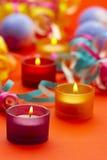 festiv świece. obraz stock