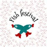 Festiva de poissons illustration libre de droits