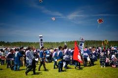 Festival 03 de cerf-volant Images libres de droits