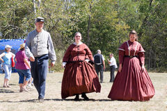 Festival. First annual GermanFest held at Mount Olive in Toms Brook in Shenandoah County in Virginia USA during the first of October Stock Photos