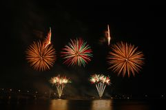 Festival 2006 de feux d'artifice de Singapour Images stock