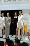 Festival 2008 de mode de S'gpore Image stock